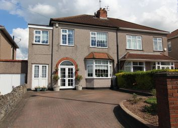 Thumbnail 4 bed semi-detached house for sale in Wells Road, Whitchurch, Bristol