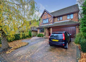 Thumbnail 4 bed detached house for sale in Windmill Heights, Bearsted, Maidstone, Kent