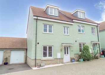 Thumbnail 3 bed semi-detached house for sale in Mill View, Purton, Swindon