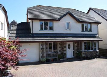 Thumbnail 4 bed detached house for sale in Lowarth Close, Helston