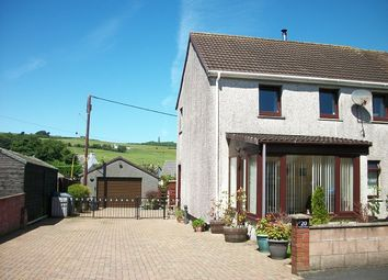 Thumbnail 3 bed semi-detached house for sale in Challoch Crescent, Leswalt, Stranraer