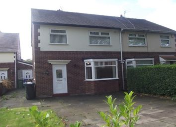 Thumbnail 3 bed property to rent in Nangreave Road, Stockport