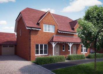 Thumbnail 3 bedroom semi-detached house for sale in William Morris Way, Tadpole Garden Village, Swindon