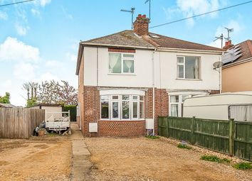Thumbnail 2 bed semi-detached house for sale in Peterborough Road, Farcet, Peterborough