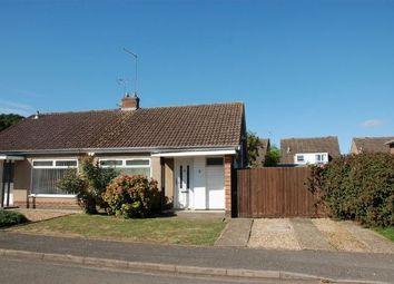 Thumbnail 2 bedroom semi-detached bungalow for sale in Oakham Close, Moulton, Northampton