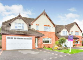 Thumbnail 4 bed detached house for sale in Demontfort Way, Uttoxeter