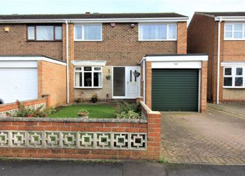 Thumbnail 3 bed end terrace house for sale in Hollystone Court, Billingham