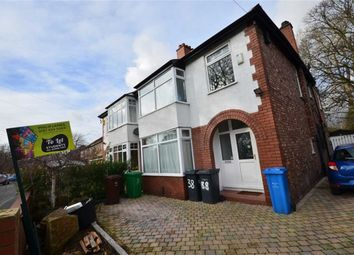 Thumbnail 6 bed semi-detached house to rent in Burton Road, Withington, Manchester, Greater Manchester