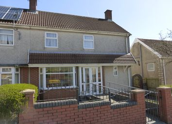 Thumbnail 4 bedroom semi-detached house for sale in Crwys Terrace, Penlan, Swansea