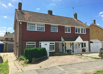 Thumbnail 3 bed semi-detached house for sale in The Four Acres, Sawbridgeworth, Herts