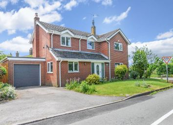 Thumbnail 3 bedroom detached house for sale in Chapel Lane, Knighton, Market Drayton