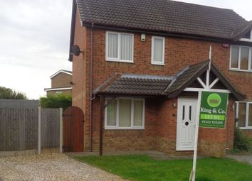 Thumbnail 2 bed semi-detached house to rent in Rusland Close, Lincoln