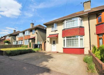 Thumbnail 3 bed semi-detached house for sale in Milton Street, Swanscombe