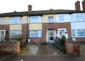 Thumbnail 3 bed terraced house for sale in Brackley Road, Bedford, Bedfordshire