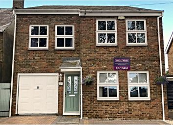 Thumbnail 4 bed detached house for sale in The Bank, Wisbech