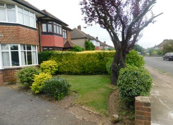 Thumbnail 3 bed semi-detached house to rent in Meadway Close, Staines Upon Thames, Middlesex