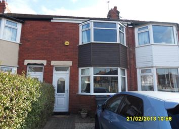 Thumbnail 2 bedroom terraced house to rent in Levine Avenue, Marton, Blackpool