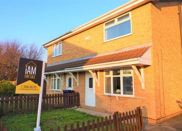 Thumbnail 3 bed semi-detached house for sale in Hood Drive, South Bank, Middlesbrough