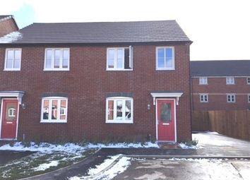 Thumbnail 3 bed semi-detached house to rent in College Close, Rugby, Warwickshire