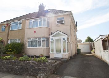 Thumbnail 4 bed semi-detached house for sale in Great Berry Road, Plymouth