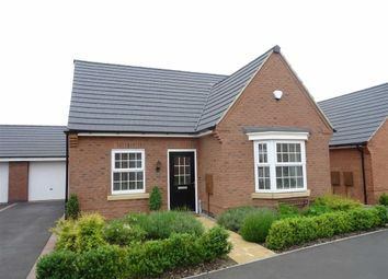 Thumbnail 2 bed detached bungalow for sale in Netherfield Drive, Sapcote, Leicester