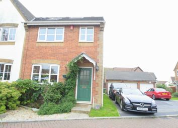 Thumbnail 3 bed semi-detached house for sale in Roseclave Close, Plympton, Plymouth
