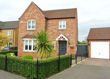 Thumbnail 4 bed detached house for sale in Homestead Gardens, Northorpe, Thurlby, Lincolnshire