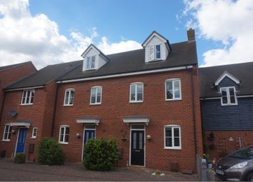 Thumbnail 3 bed town house for sale in Turnstone Drive, Bury St. Edmunds
