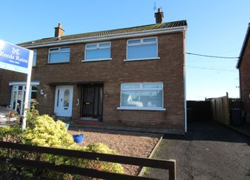 Thumbnail 3 bed semi-detached house for sale in Longfield Gardens, Greenisland