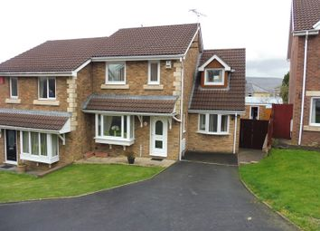 Thumbnail 3 bed semi-detached house for sale in Potters Field, Aberdare