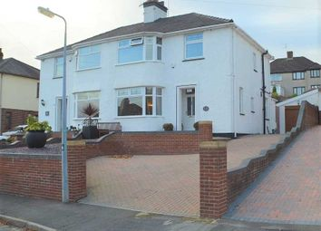 Thumbnail 3 bed semi-detached house for sale in Blean Y Pant Avenue, Malpas, Newport