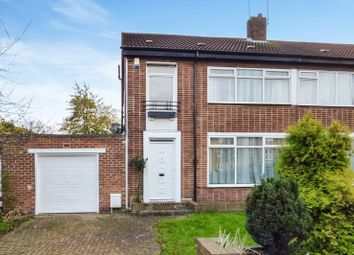 Thumbnail 3 bed semi-detached house for sale in Broadway West, Gosforth, Newcastle Upon Tyne