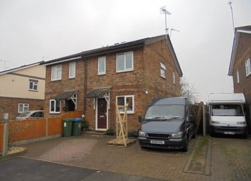Thumbnail 2 bed semi-detached house for sale in 24 Levings Close, Aylesbury, Buckinghamshire