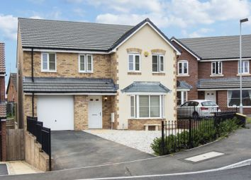 Thumbnail 4 bed detached house for sale in Bailey Crescent, Langstone, Newport