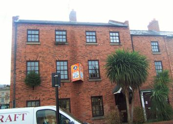 Thumbnail 3 bed flat to rent in Meadow Place, Shrewsbury