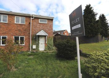 Thumbnail 3 bed semi-detached house to rent in Weston Close, Hinckley
