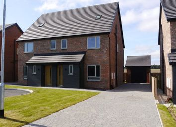 Thumbnail 4 bed semi-detached house for sale in Red House Gardens, Netherton Lane, Bedlington