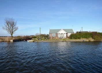 Thumbnail 3 bed detached bungalow for sale in North West Riverbank, Potter Heigham