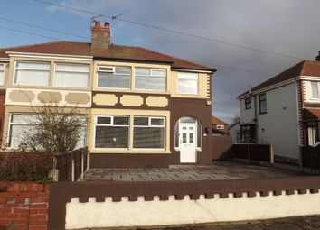 Thumbnail 3 bed semi-detached house to rent in Westmorland Avenue, Thornton-Cleveleys