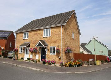 Thumbnail 2 bed semi-detached house for sale in Broomhouse Park, Witheridge, Tiverton