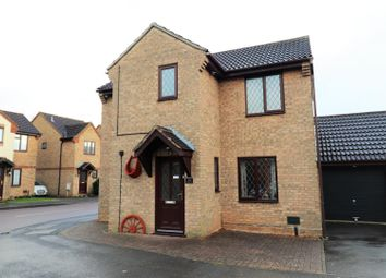 Thumbnail 4 bed detached house for sale in Brashland Drive, Wootton, Northampton