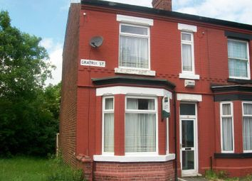 Thumbnail 2 bedroom terraced house to rent in Gratrix Street, Gorton, Manchester