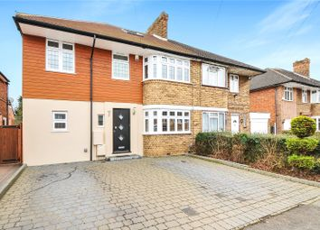 Thumbnail 6 bed semi-detached house for sale in Cambridge Drive, Eastcote, Middlesex