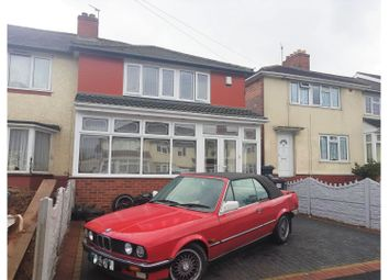 Thumbnail 3 bedroom end terrace house for sale in Nansen Road, Birmingham
