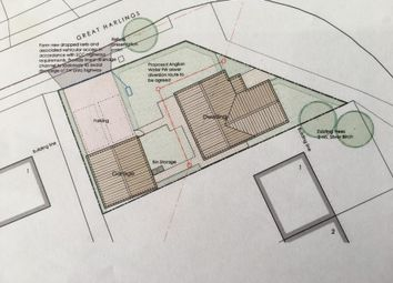Thumbnail Land for sale in Visdelou Terrace, Shotley Gate, Ipswich