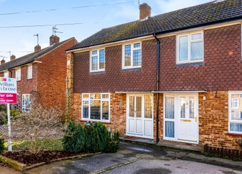 Thumbnail 2 bed semi-detached house for sale in Bentley Road, Hertford