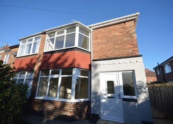 Thumbnail 2 bed semi-detached house for sale in Blackwell Avenue, Walker, Newcastle Upon Tyne