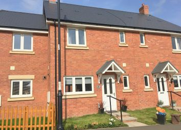 Thumbnail 3 bed terraced house to rent in Trem Gwlad Yr Haf, Coity, Bridgend.