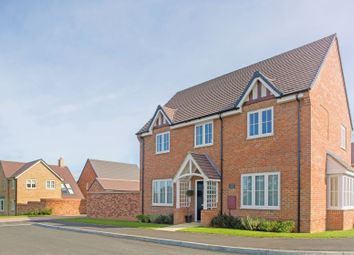 "Thumbnail 4 bed detached house for sale in ""The Caulke"" at Brampton Lane, Chapel Brampton, Northampton"
