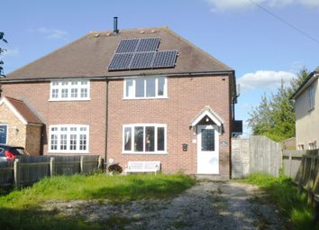 Thumbnail 3 bed semi-detached house for sale in Larkins Road, Croydon, Royston